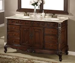 60 double sink vanity top. brown wood 60 vanity for exciting bathroom cabinet design and double sink top