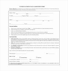 Payment Plan Template Payment Plan Contract Template Stanley Tretick