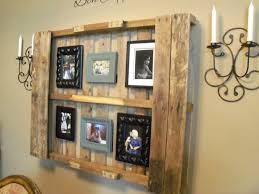 Pallet Kitchen Furniture Furniture Attractive Wood Pallet Kitchen Wal Sheves With Black