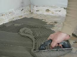 Peel And Stick Kitchen Floor Tile How To Install A Tile Floor Good Peel And Stick Floor Tile On