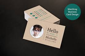 Resume Business Cards Custom Creative Resume Business Card Set On Behance