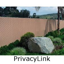 chain link fence slats brown. Chain Link Fence With Pre-Woven Slats Brown W