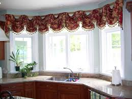 Kitchen Windows Creative Ideas For Kitchen Window Curtains Home Design Ideas