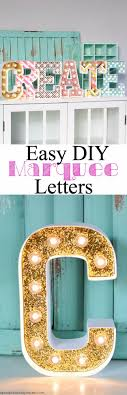 diy wall letters and word signs diy marquee letters initials wall art for creative