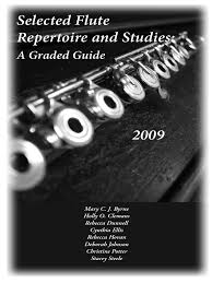Selected Flute Repertoire and Studies   Musical Notation   Rhythm