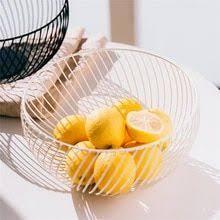 Fruit Basket Stand <b>Iron</b> Art Basket Storage - meatchell.ru