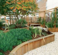 interesting timber retaining wall designs retaining wall woodscape timber hardwood wall designs ideas builders
