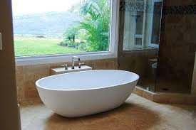 image of bathtub overflow drain installation