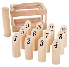Lawn Game With Wooden Blocks Interesting Hey Play Wooden Throwing Game Traditional Outdoor And Lawn
