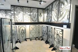 stain glass door inserts wrought iron stained glass door inserts image images stained glass door inserts