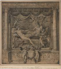 jupiter and juno study for the furti di giove tapestries  jupiter and juno study for the furti di giove tapestries