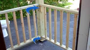 Balcony Fence building balcony railing over flat roof 71113 youtube 6288 by xevi.us