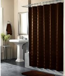 brown fabric shower curtains. Cool Idea Brown Fabric Shower Curtain Curtains And Drapes F