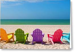adirondack chairs on beach. Adirondack Beach Chairs For A Summer Vacation In The Shell Sand With New Ideas On
