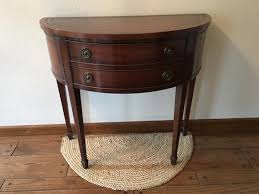 Antique hall table Demi Lune Antique Hall Table Homehome And Garden Sylvania Pinterest Used Antique Hall Table For Sale In Sylvania Letgo