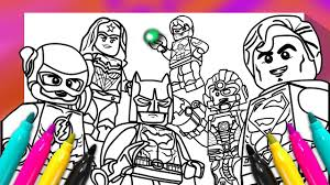 justice league coloring book dc ics superheroes coloring page