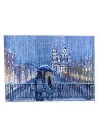 "<b>Картина на дереве</b> - сувенир ""Санкт-Петербург. Хранители"" 14 ..."