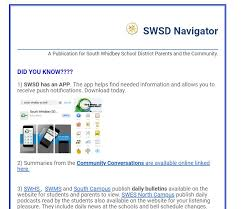 Swsd Navigator Bi Monthly Notices South Whidbey School