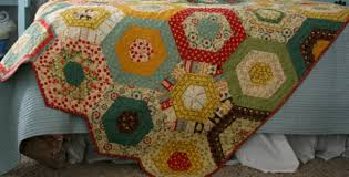 Simple Hexagons Make This Merry-Go-Round Quilt – Quilting Cubby & merry go round quilt Adamdwight.com