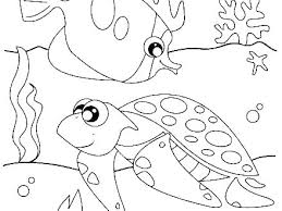 Ocean Coloring Pages For Preschool Ocean Coloring Pages Ocean