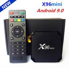 Original X96 mini Android 9.0 Smart TV Box Amlogic S905W Quad Core 2GB 16GB  2.4G WiFi Media Player X96mini Set top box 1GB 16GB wifi set top box smart  tv boxtv box - AliExpress