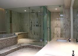 full size of frameless glass shower panel cost installation screens brisbane bathrooms enchanting steam enclosure with