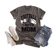 Super Bowl Ticket Price Chart Amazon Com Football And Cheer Mom Super Bowl T Shirt Women