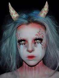 rose demon makeup