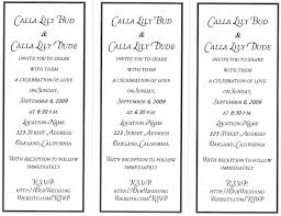 diy wedding invitations word the blog diy wedding invitations word