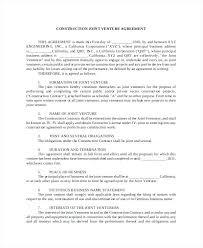 Letter Of Intent Real Estate 78 Inspirational Joint Development Agreement Real Estate ...
