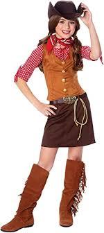 Official Costumes Girls Big Gun Slinger Costume ... - Amazon.com