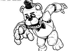 Excellent Ideas Five Nights At Freddys Coloring Pictures Five