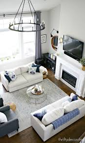 living room furniture layout
