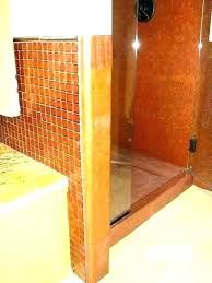 outdoor copper shower fixtures pan drain assembly tile over pans square bathrooms plumbing squar