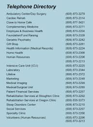 Contact Stoughton Hospital