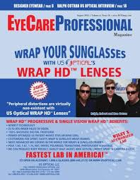 Vsp Signature Plan Lens Enhancements Chart Eyecare Professional Magazine August 2012 Issue By Ecp
