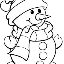 Small Picture Printable Free Printable Snowman Coloring Pages Grootfeestinfo
