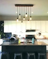 rustic lighting for kitchens modern rustic chandeliers modern rustic kitchen lighting 7 pendant bulb industrial chandelier