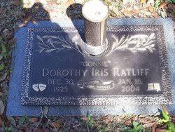 Dorothy Iris Berry Ratliff (1925-2004) - Find A Grave Memorial