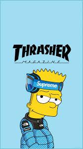 Supreme Bart Simpson Wallpaper ...