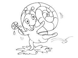 Escargot 9 Animaux Coloriages Imprimer