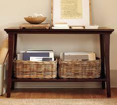 sofa table decor pottery barn. Remodelaholic   25 Ways To Decorate A Console Table Sofa Decor Pottery Barn N