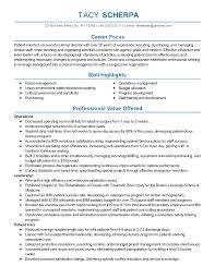 Sample Director Of Operations Resume Professional Clinical Director Templates to Showcase Your Talent 11