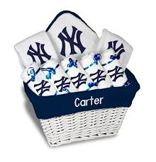 personalized new york yankees large gift basket