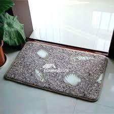 absorbent bath mat super brown rectangular soft unique thick non slip p door s uk rug