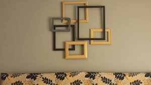 artistic decoration wall art with picture frames leaves rectangular interior design home
