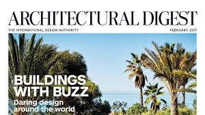 In The Magazine Architectural Digest