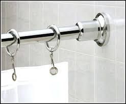 superb polished nickel shower rod chrome polished nickel curved shower curtain rod post