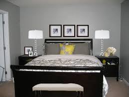 bedroom with dark furniture. Bedroom Dark Furniture Carpet Grey Walls Bank More With E