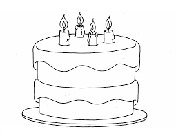 Small Picture 3 tier cake drawing layered birthday clip art 10jpg coloring pages